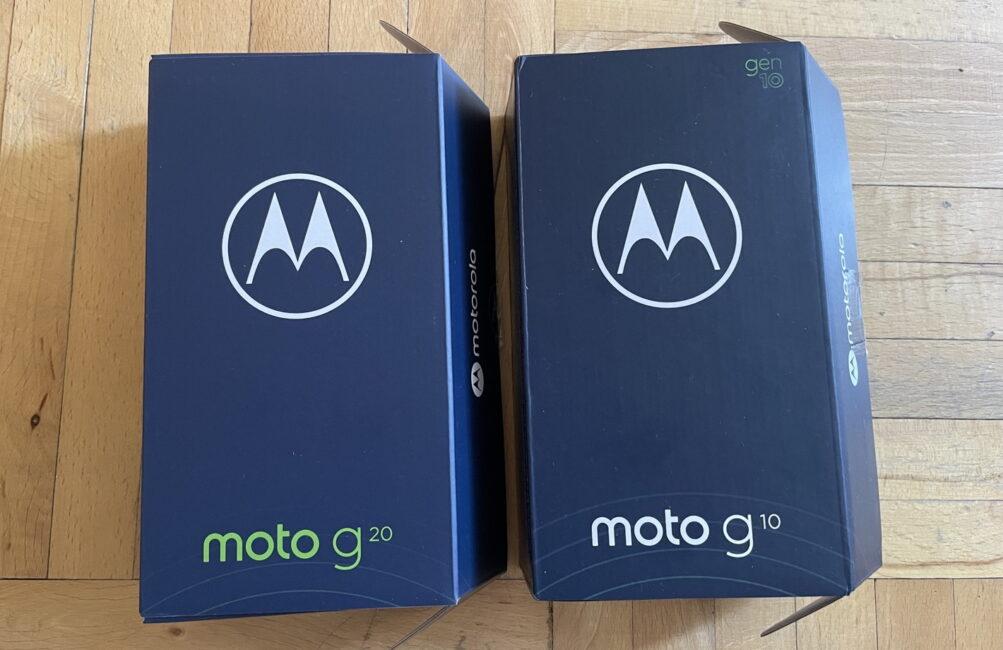 Moto G10 Moto G20