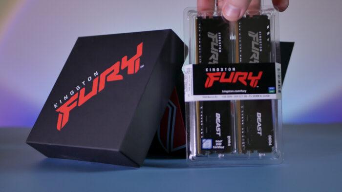 Kingston Fury Beast 2×8GB 3600MHz