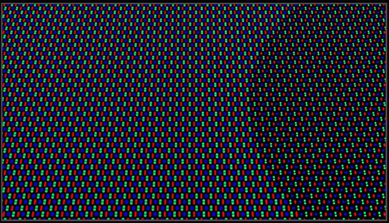 OPPO USC pixel rendering