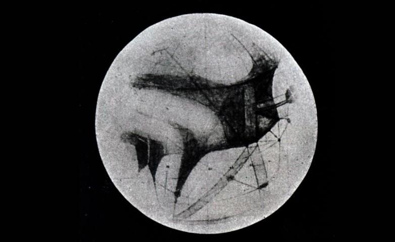 Малюнок Марса XIX століття