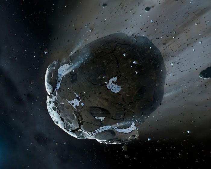 NASA asteroid Phaethon