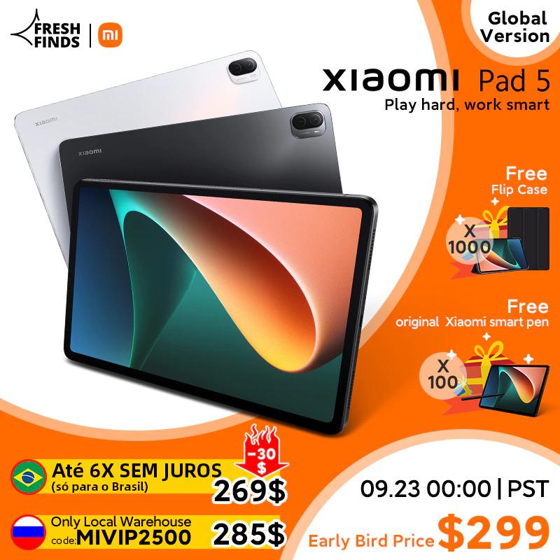 Xiaomi представила глобальную версию планшета Pad 5. Известны цены (+ подарки!)