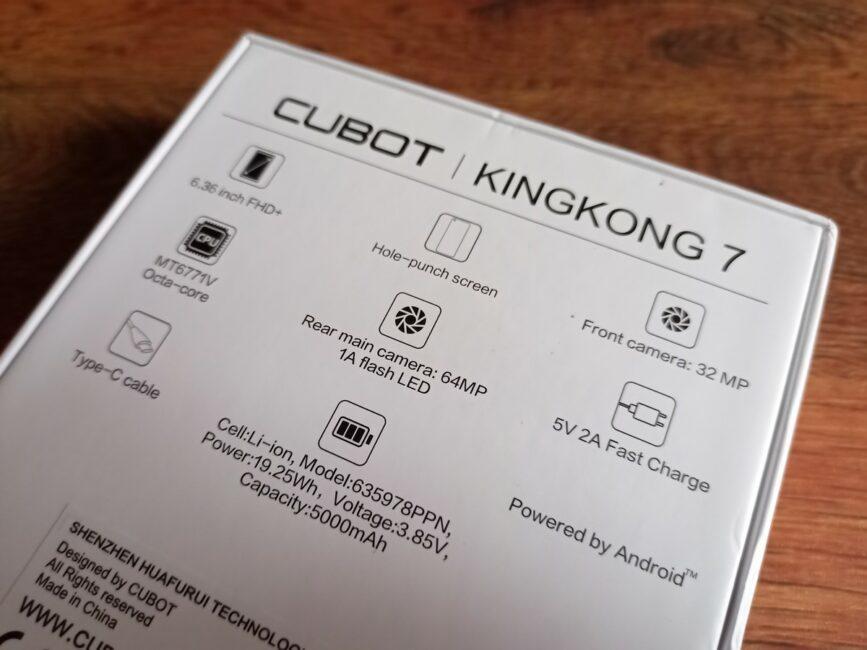 Cubot KingKong 7 - Photo Samples