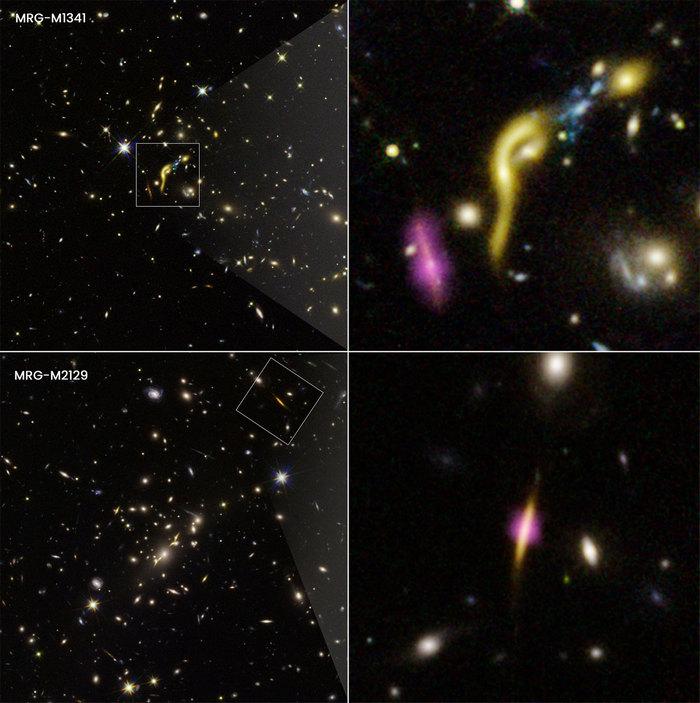 Габбл виявив шість ранніх галактик, у яких закінчилося паливо
