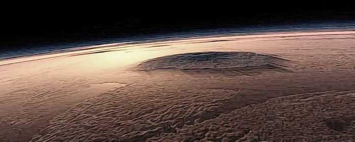 super eruptions mars