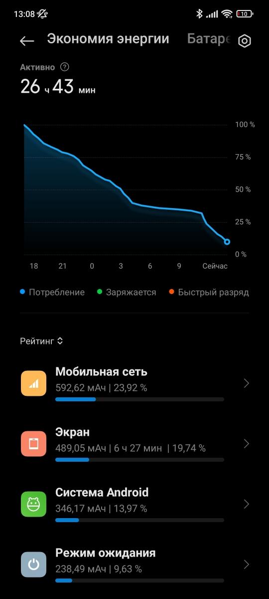 Xiaomi 11T Pro - Battery