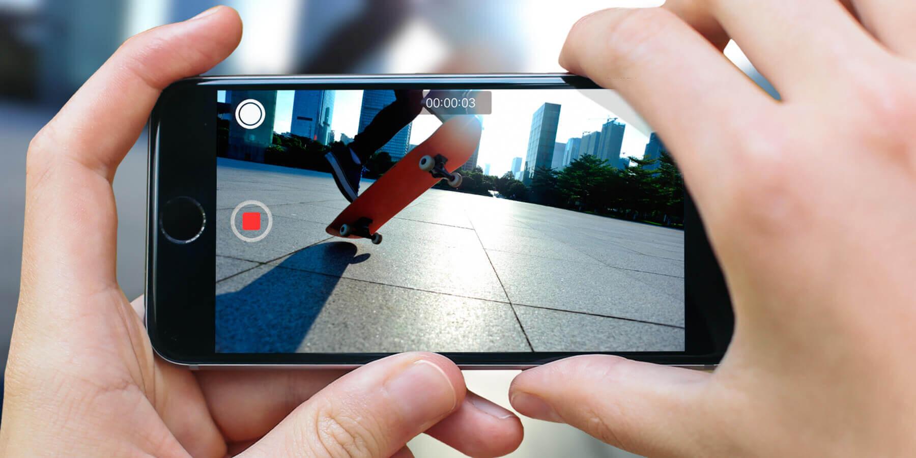 камера iPhone - slow-mo