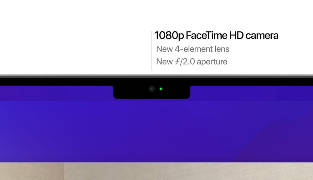Apple MacBook Pro 2021 камера